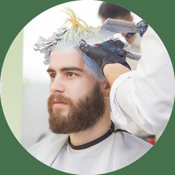 Men's Hair Color Salon Troy